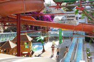 Magic Aqua Roc Hotel con toboganes en benidorm