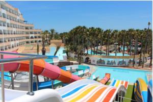 Hoteles con toboganes en Almería, Playasol