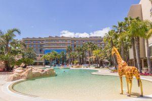 Piscina del hotel palas pineda, Tarragona