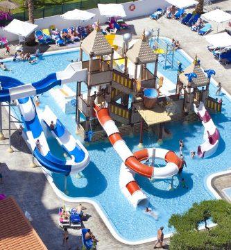Hotel con parque acuático en la comunidad valenciana