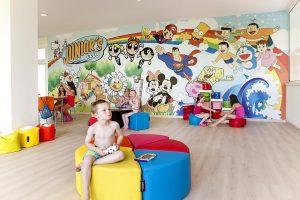 Miniclub infantil en h10 salou