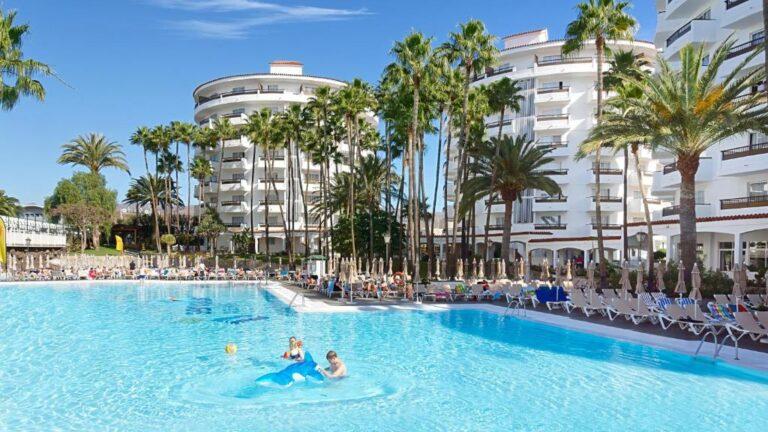 Hoteles con parque acuático para niños en la costa de Gran Canaria