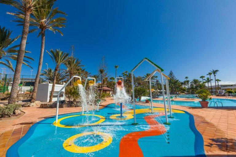 Hoteles con toboganes en la costa de Gran Canaria