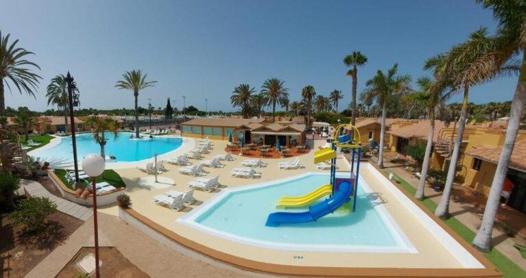 Hoteles con toboganes para niños en la costa de Gran Canaria