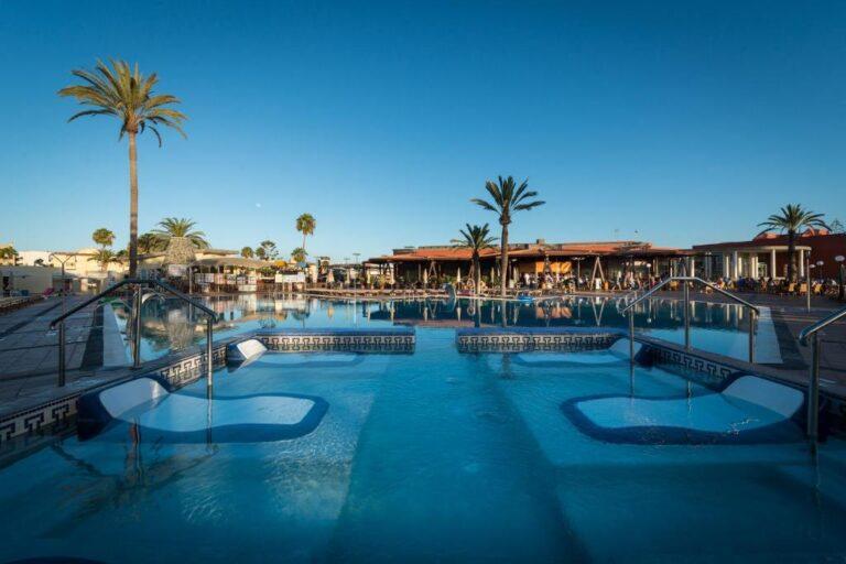 Hoteles con toboganes para niños en Gran Canaria